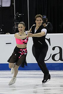 Michael Parsons (figure skater) American ice dancer