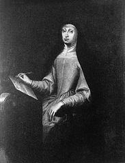 Portrait of Mariana of Austria.