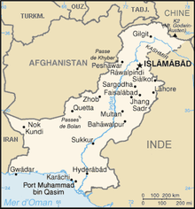 Description de l'image Carte Pakistan.png.