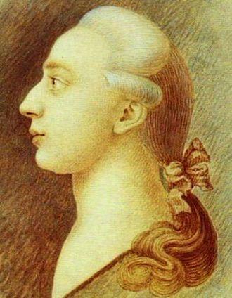 Histoire de ma vie - Portrait of Giacomo Casanova (made about 1750–1755) by his brother Francesco Casanova (State Historical Museum, Moscow).