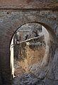 Castell de santa Bàrbara, pont i fossat.JPG