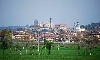 Castiglione delle Stiviere - Image: Castiglione delle Stiviere (panorama)