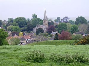 Castle Cary - Image: Castle Cary church