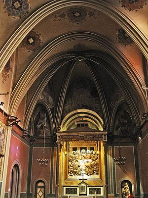 Terrassa Cathedral - La capella del Santíssim