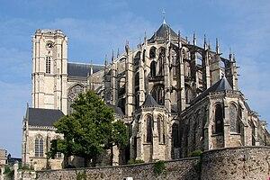 Avesgaud de Bellême - Image: Cath saint julien