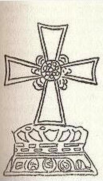 Nestorian cross - Image: Cathayan Nestorian Cross 1