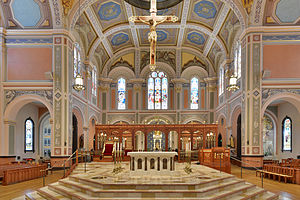 Cathedral of the Blessed Sacrament (Sacramento, California) - Image: Cathedral Of The Blessed Sacrament