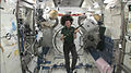 Catherine Coleman with Matt Molloy's flute in the Space Station.jpg