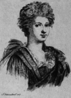 Catherine Leclerc du Rose actress (1630-1706)