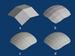 ไทย: (a) mesh เริ่มต้น (b) subdivide ด้วย algo...