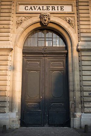 Cavalerie, Paris Door.jpg