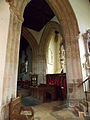 Caythorpe St Vincent - Crossing tower arch A.jpg