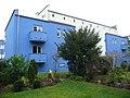 Celle, Siedlung Italienischer Garten, Rückfassade Nr.1, 2008.jpg
