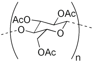 Cellulose triacetate - Image: Cellulose triacetate
