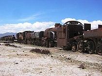 Cemitério de trens, Uyuni, Bolivia.jpg
