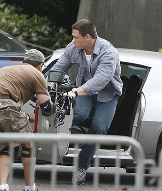 12 Rounds (film) - John Cena filming on the set of 12 Rounds.