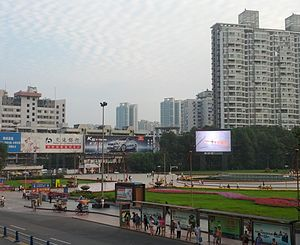 Mianyang - People's Park, downtown Mianyang