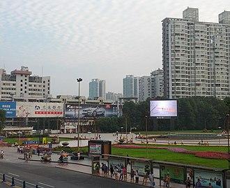 Mianyang - People's Park, downtown Mianyang