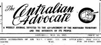 Centralian Advocate - Centralian Advocate, 24 May 1947