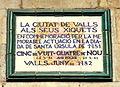 Ceràmica dedicada al Xiquets de Valls (plaça del Blat).jpg