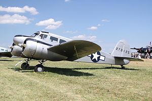 Jacobs Aircraft Engine Company - The Cessna UC-78 Bobcat used the L-4 engine