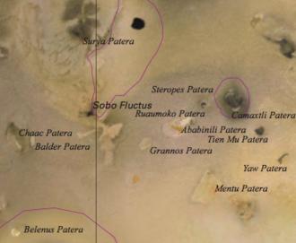 Chaac-Camaxtli region - The Chaac-Camaxtli region of Io