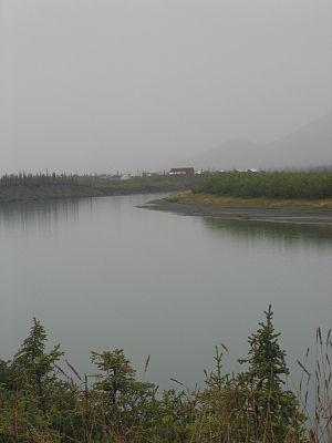 Chandalar River - East Fork of the Chandalar River, at Arctic Village