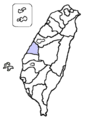 Changhua County location.png