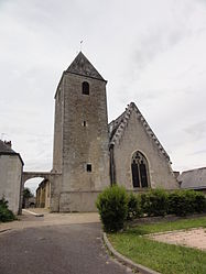 The church in Chargé