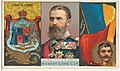 Charles, King of Romania, from the Rulers, Flags, and Coats of Arms series (N126-1) issued by W. Duke, Sons & Co. MET DPB873795.jpg