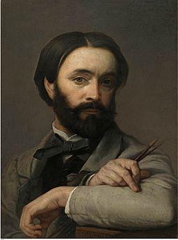 Charles Verlat - Autoportret