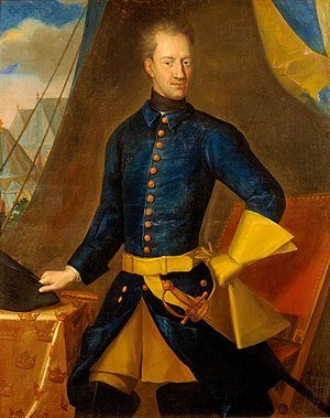 Campaign of Grodno - Charles XII, king of Sweden in his typical military uniform.