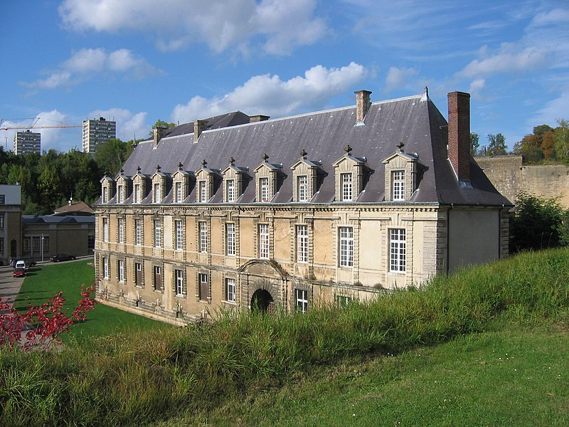 Château-bas de Sedan, en Ardennes, France