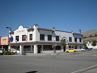 Chelan, Washington - Image: Chelan, WA R. W. Little Building 02