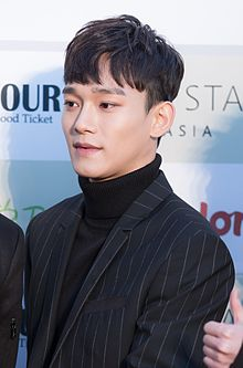 Chen - 2016 Gaon Chart K-pop Awards red carpet.jpg