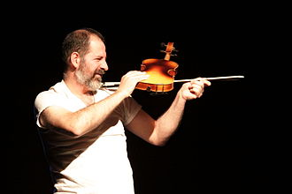 Luciano Chessa - Chessa performing at the Fluxus Semicentennial in San Francisco in 2011