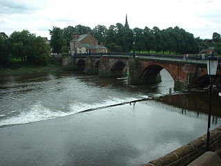 Chester Weir Grade I listed building in the United Kingdom