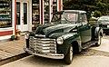 Chevrolet Thriftmaster, centro histórico de Skagway, Alaska, Estados Unidos, 2017-08-18, DD 39.jpg