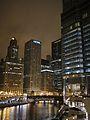 Chicago Skyline off the Chicago River.jpg