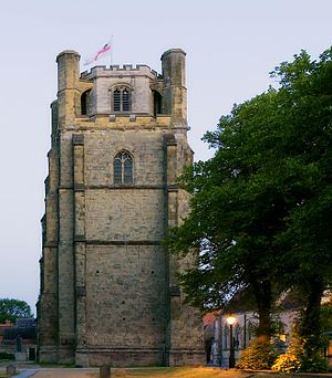Chichester Cathedral - The 15th-century Bell tower