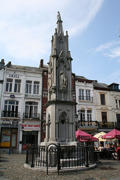 Chimay  (Belgium), the fountain of the princes of Chimay (1852).
