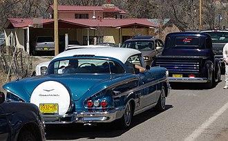 Cavalcade - Automobile cavalcade to El Santuario de Chimayó