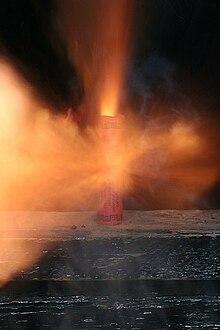 взрыва петарды: