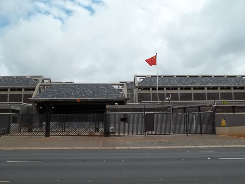 Chinese Embassy in Pretoria.JPG