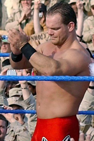 Chris Benoit - Benoit at the Tribute to the Troops in 2003