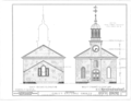 Christ Episcopal Church, Broad Street and Sycamore Avenue, Shrewsbury, Monmouth County, NJ HABS NJ,13-SHREW,1- (sheet 4 of 19).png
