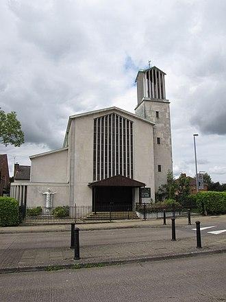 Knowle West - Christ the King Roman Catholic church, Filwood Broadway