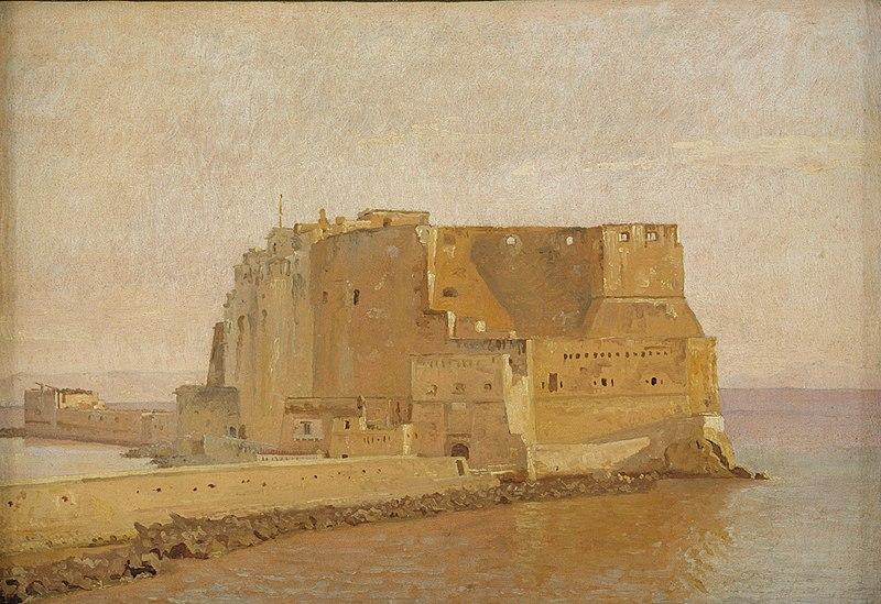 File:Christen Købke - Castel dell'Ovo in Naples - KMS3467 - Statens Museum for Kunst.jpg