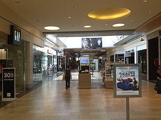 Christiana Mall - Christiana Mall between Macy's and JCPenney