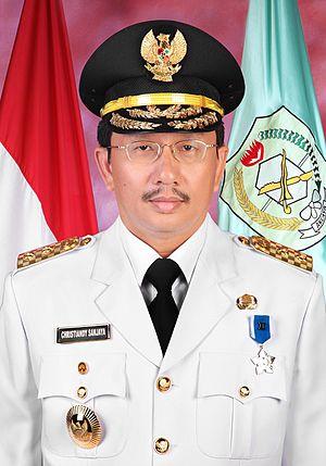 Christiandy Sanjaya - Official photograph as Deputy Governor